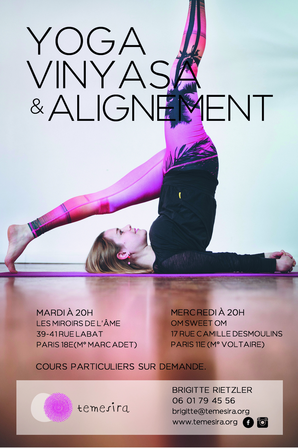 Yoga Vinyasa Alignement Anusara Paris