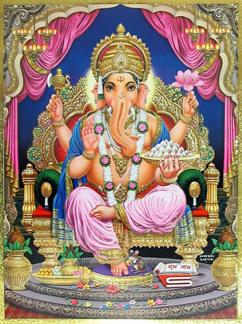 Ganesha-with-Musika