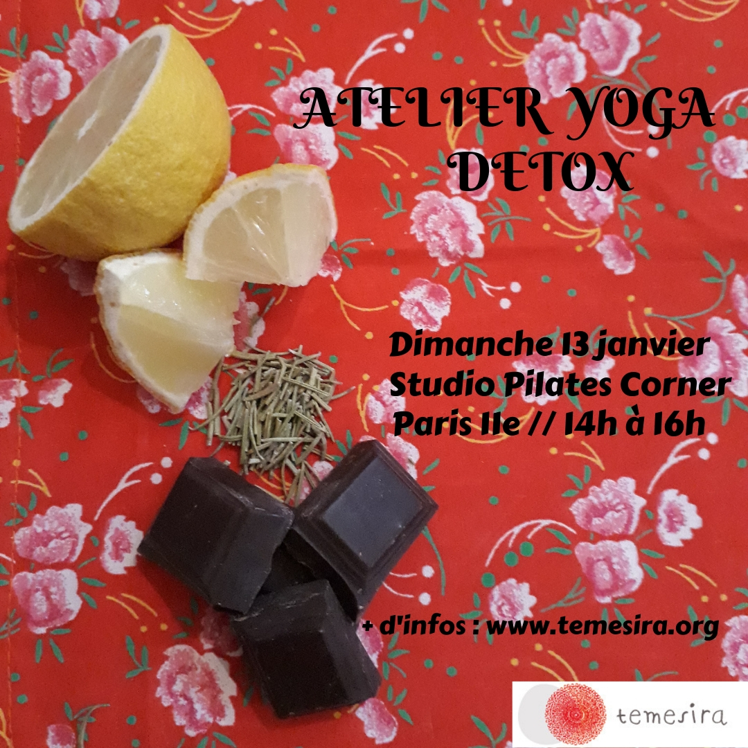 Atelier Yoga Detox Post-Fêtes Twists Hiver Healthy body