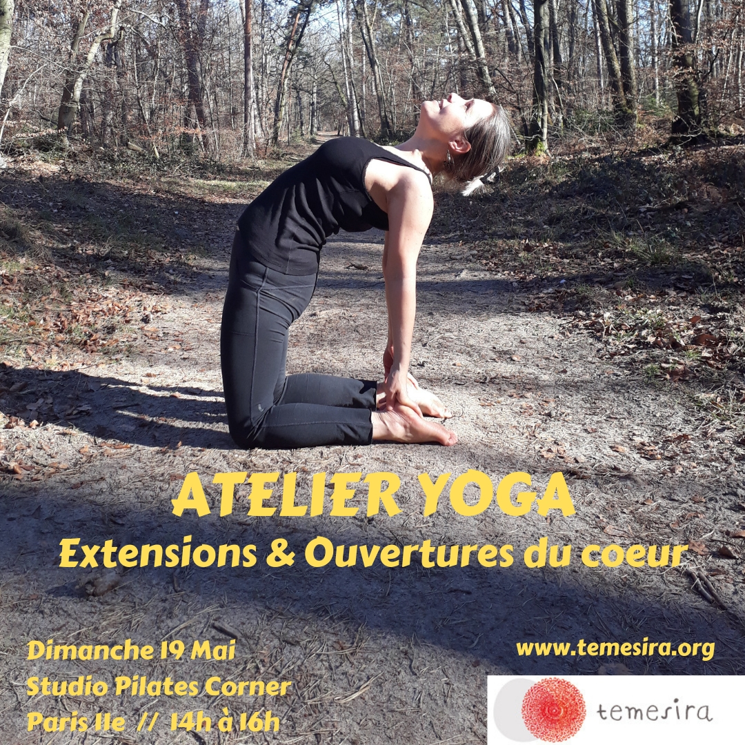 ATTELIER YOGA Extensions Ouvertures du Coeur Backbends