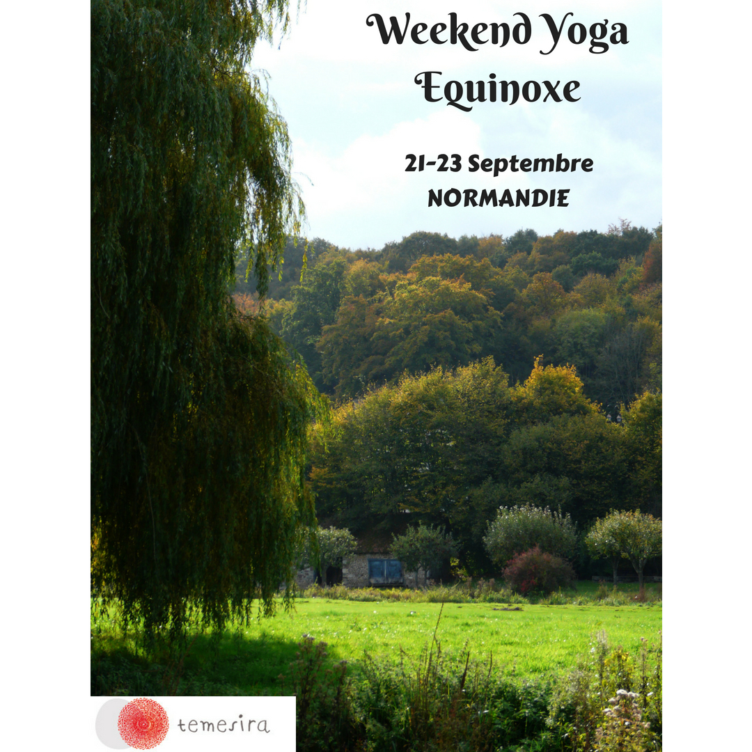 Weekend Yoga Equinoxe Temesira Stage Nature Ressourcement