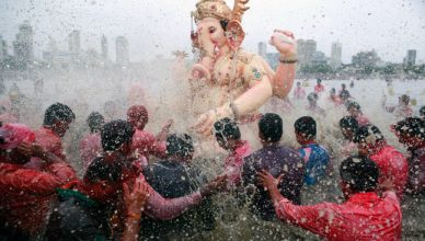 Ganesh Chaturthi Puja Festival Celebration